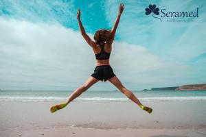 ejercicios para hacer en la playa